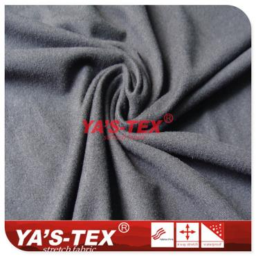 Polyester weft knitting, hair feel, flannel, soft and wearable sportswear fabric