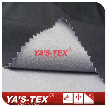 75D Polyester Four-way Elastic Composite 50D Knitted Fabric