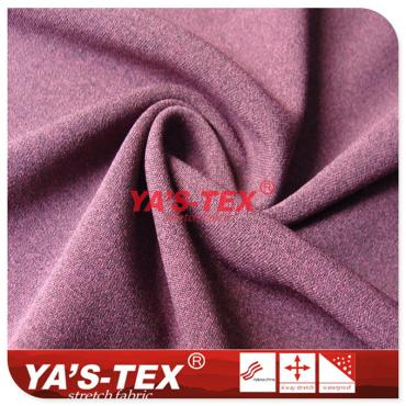 Double-color effect knitted fleece, cationic grasping fleece warmth fabric