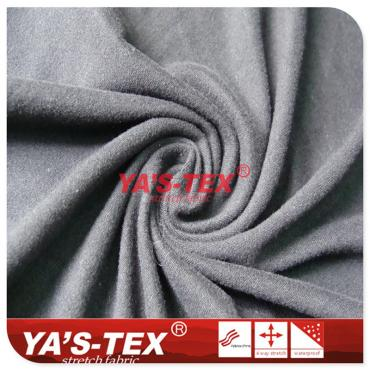 Cationic two-color knitted fabric, woolen felt fabric, soft and wear-resistant