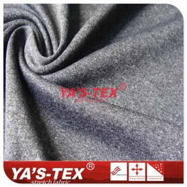 Cationic knitted woolen fabric, soft and elastic, skin friendly