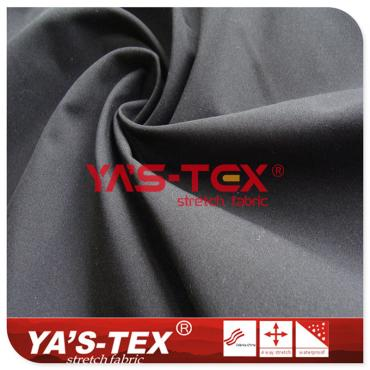 75D polyester high elastic yarn, spandex-free stretch fabric, thick wear-resistant micro-elastic pants fabric