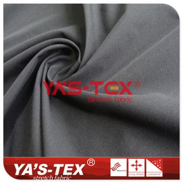 75D polyester high elastic yarn, no spandex stretch fabric, thick wear-resistant trousers fabric