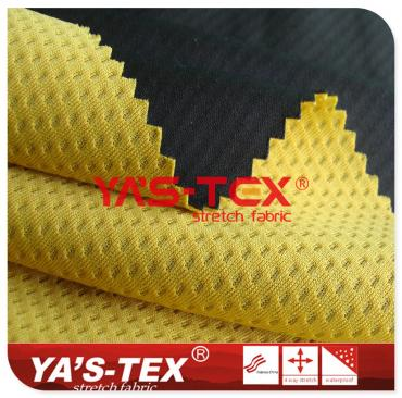 50D knitted fabric composite jacquard mesh, three-layer composite soft shell, soft high-elastic fabric