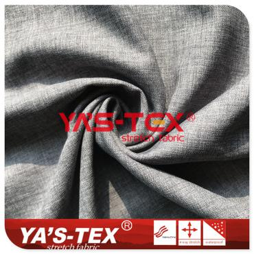 50D twill high stretch silk fabric, cationic style, 2/2 twill stretch fabric