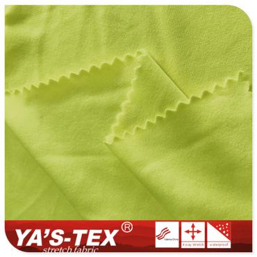 Polyester knitted fabric, weft knitted elastic knitted sportswear fabric